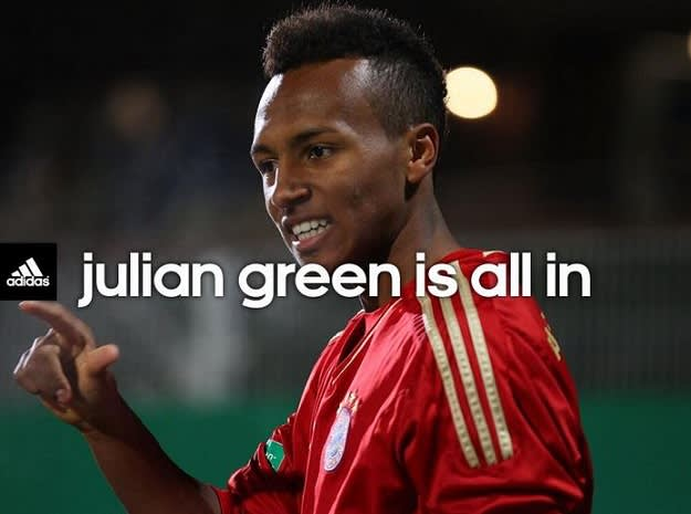 Julian Green and adidas