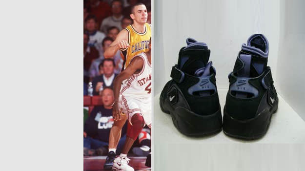 Jason Kidd Cal Bears Nike Air Unlimited