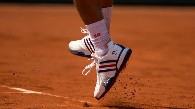 Novak Djokovic adidas Barricade 7