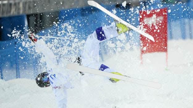Olympics: Freestyle Skiing-Men's Moguls Qualification