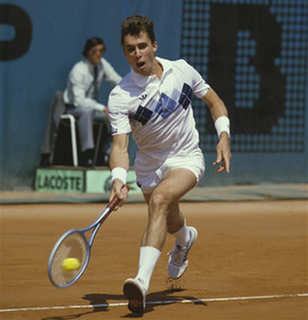 French Open outfit Ivan Lendl 1