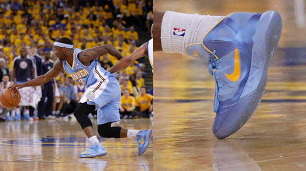 Ty Lawson in the Nike Zoom Soldier VI