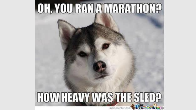 husky marathon