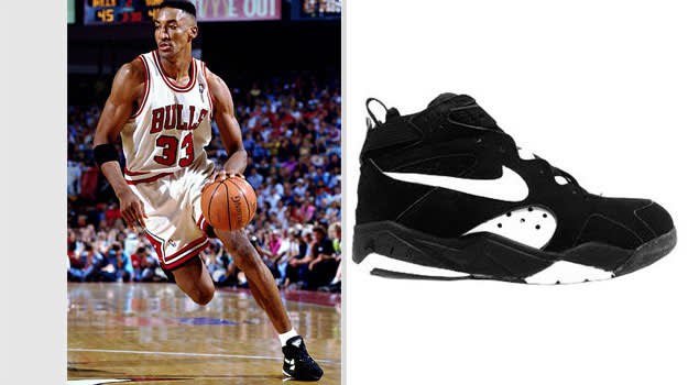 Scottie Pippen Chicago Bulls Nike Air Maestro