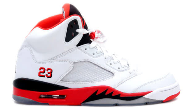 "Air Jordan Retro V ""Fire Red"""