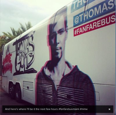 Thomas Gold FanFare Bus