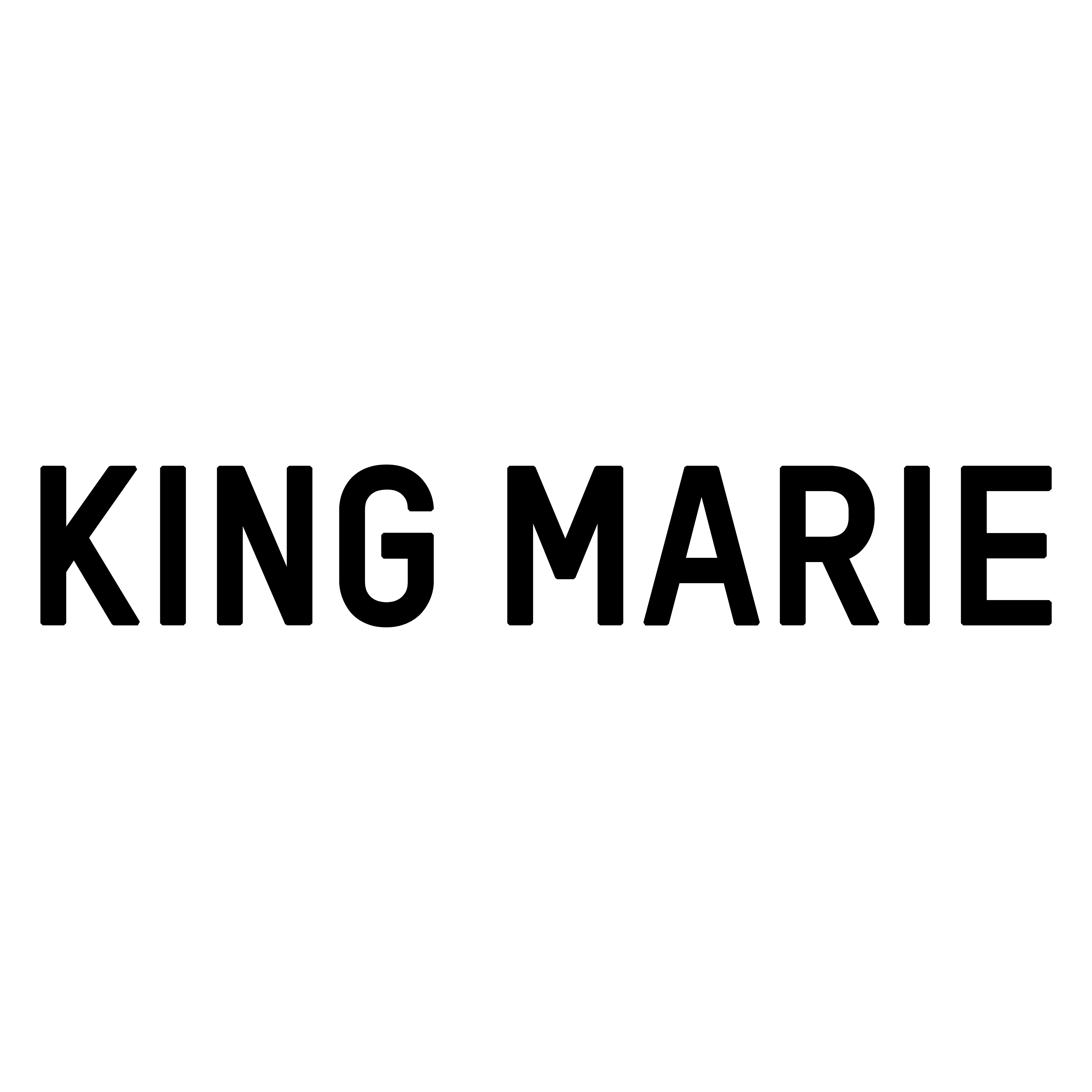 KING MARIE