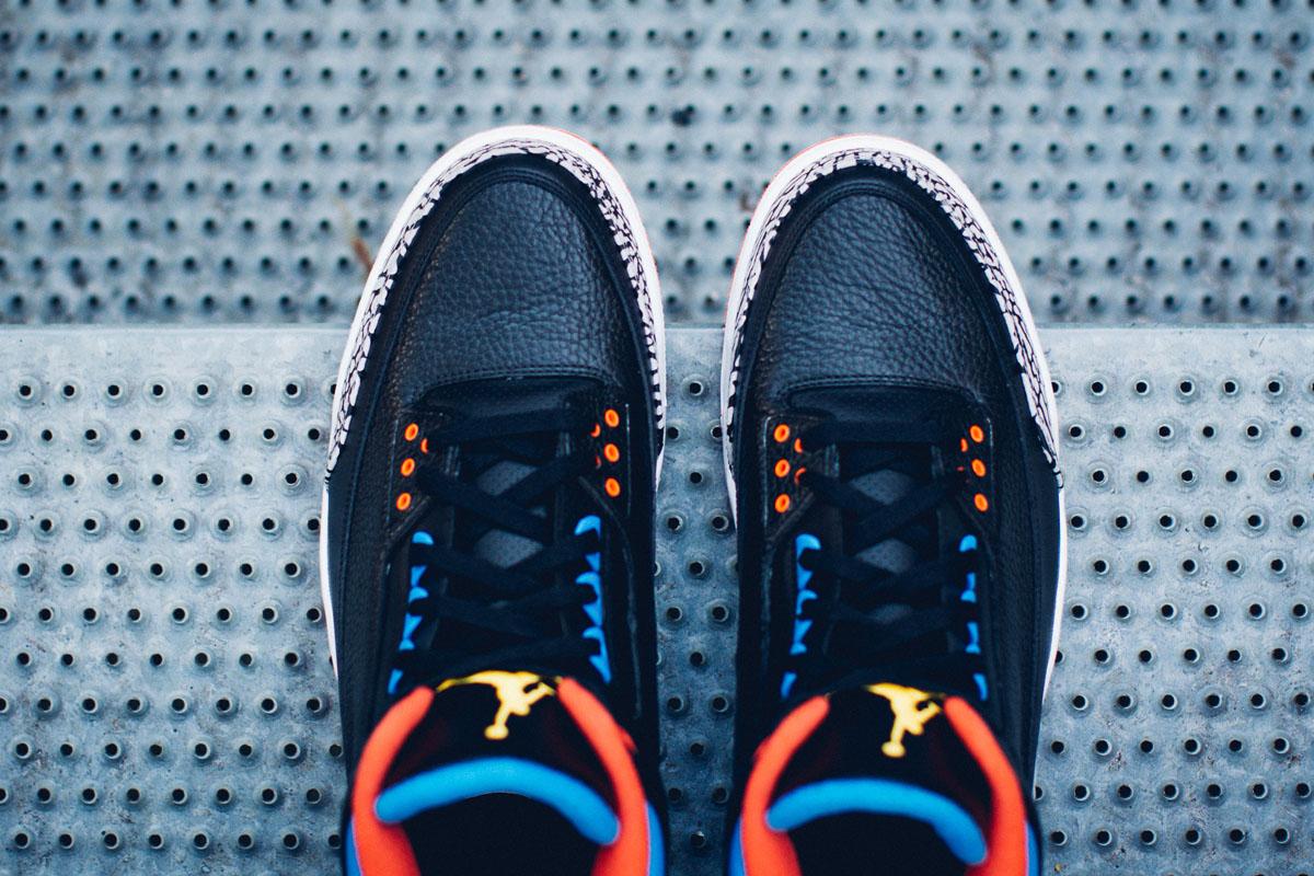 Air Jordan 3 Russell Westbrook OKC PE 10