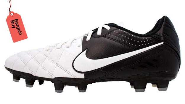 Nike Tiempo Natural IV Leather White zmBB Lead BARGAIN BUY: The 10 Best Soccer Boot Deals of the Week