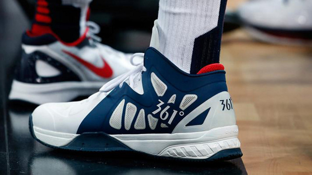 Kevin Love 361 Degrees USA Gallery: The Coolest Sneakers of the 2012 London Olympics