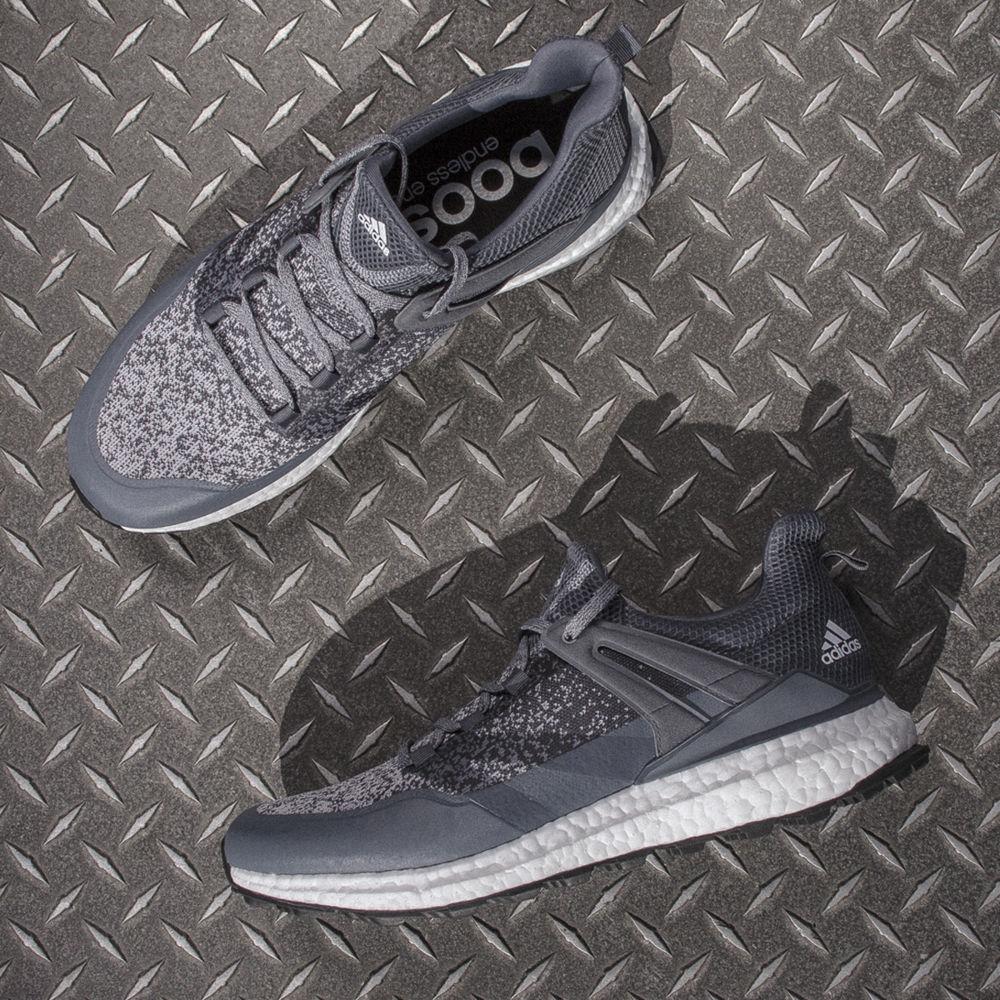 Adidas Crossknit Boost Golf Shoe Grey