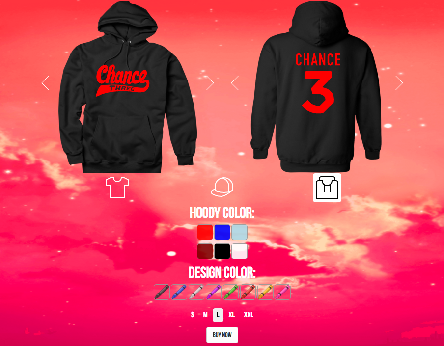 Chance The Rappers New Merch Is Customizable