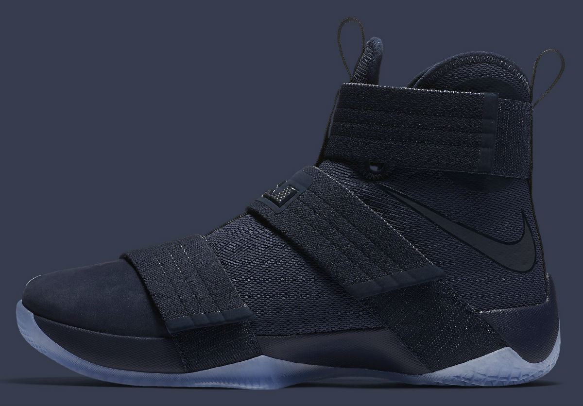 superior quality 6fe35 a3e3c Nike LeBron Soldier 10 Midnight Navy Release Date 844378-444 ...
