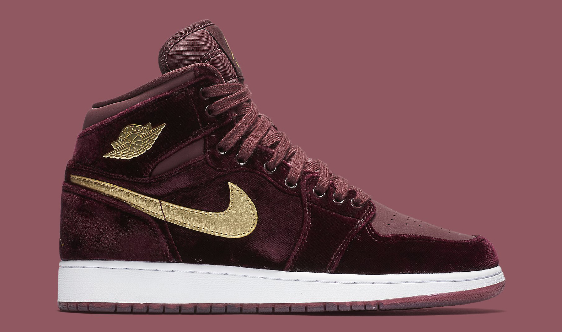 separation shoes 1c97c c8989 Red Velvet Air Jordan 1 Heiress | Sole Collector