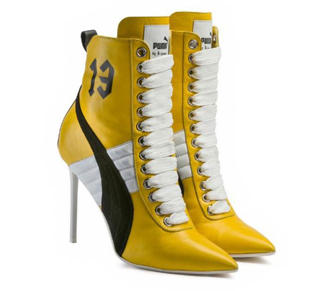 Rihanna Puma Heels Yellow