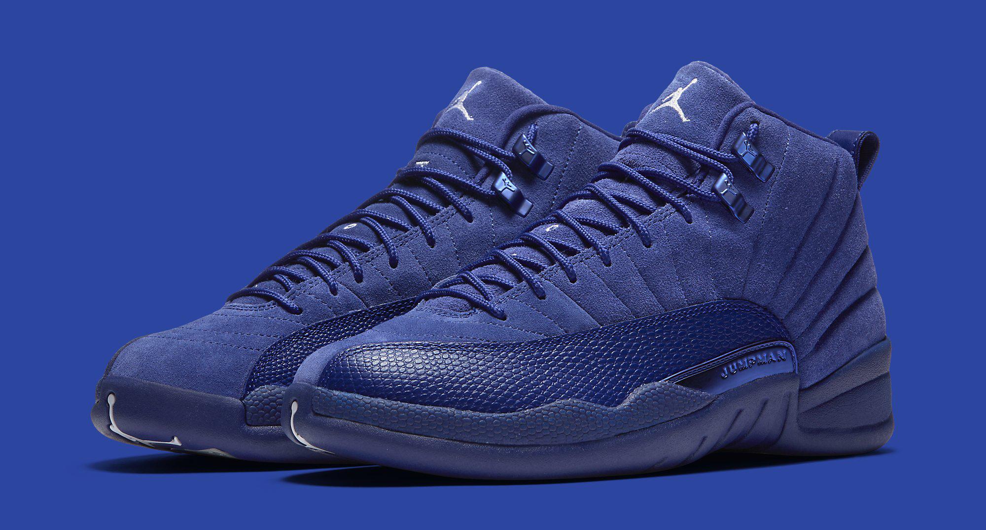 Blue Jordan 12 Pair
