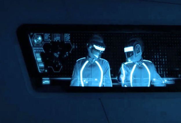 daft punk tron legacy cameo The 10 Best EDM Fueled Movie Soundtracks