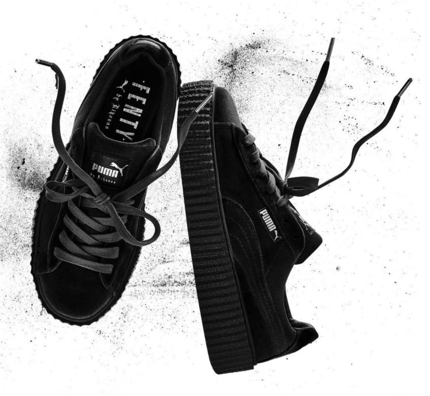buy popular 6ba93 2e242 Rihanna Puma Creeper Velvet | Sole Collector