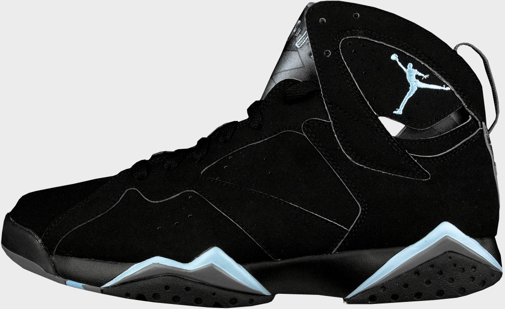 air jordan 7 all black