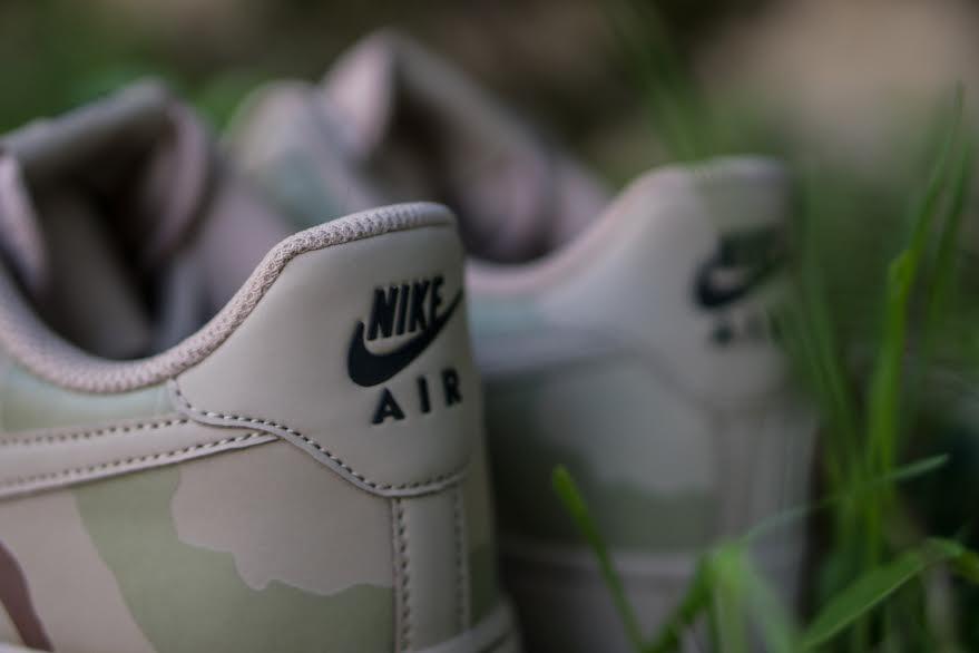 Nike Air Force 1 07 LV8 Desert Camo Heel 718152-204