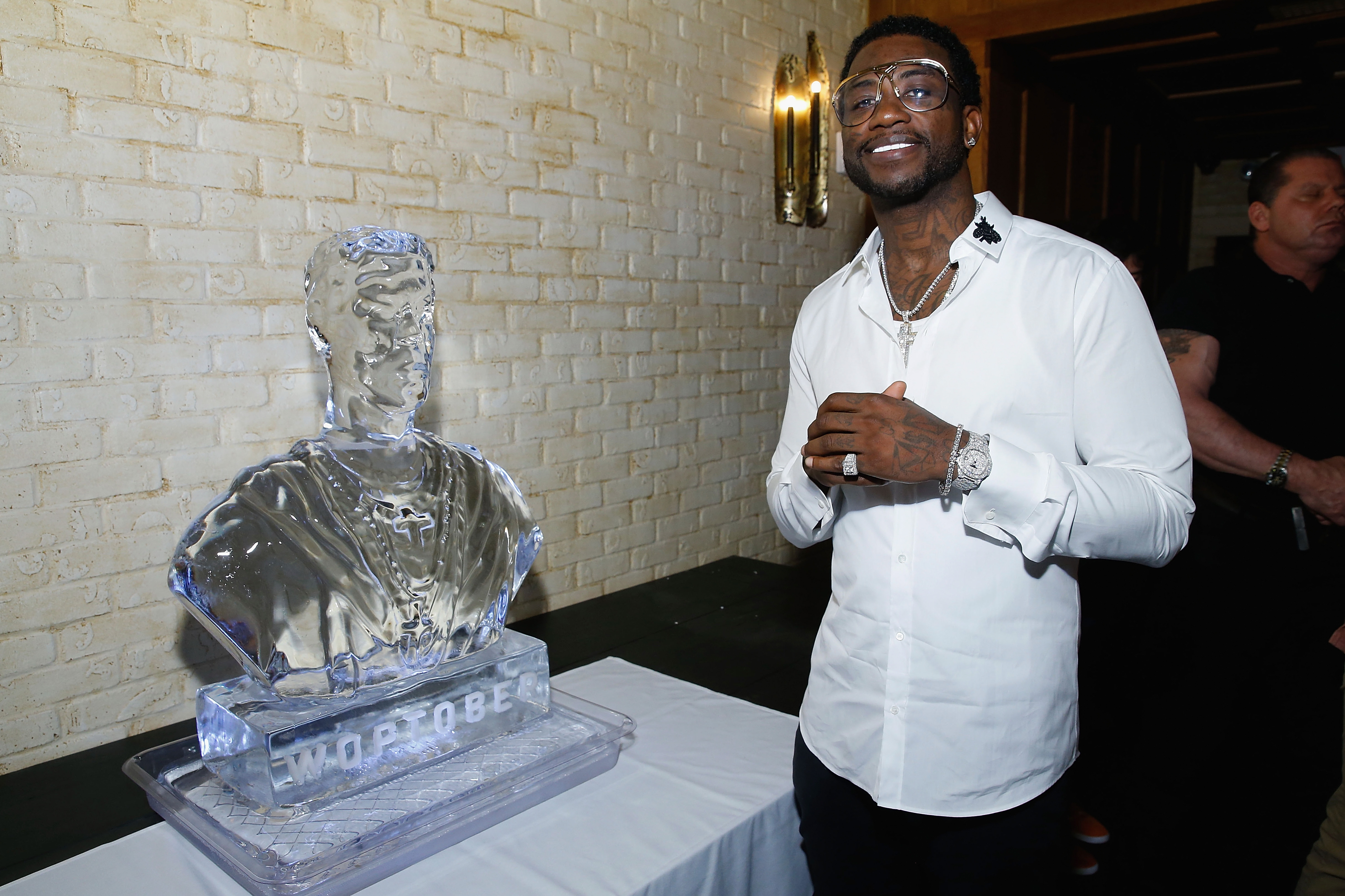 Gucci Mane at a private dinner in New York City