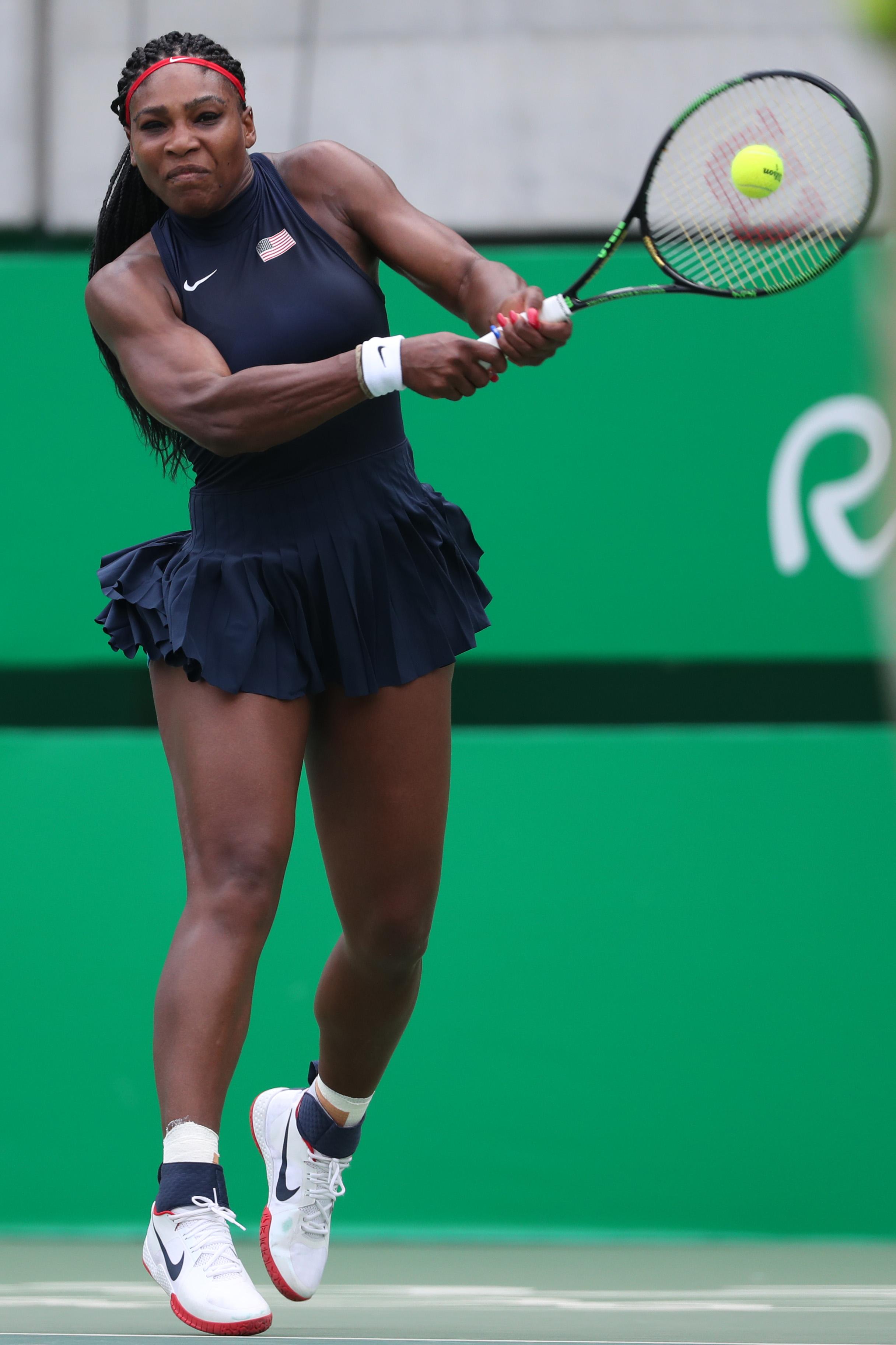 Serena Williams USA Olympics Nike Flare 1