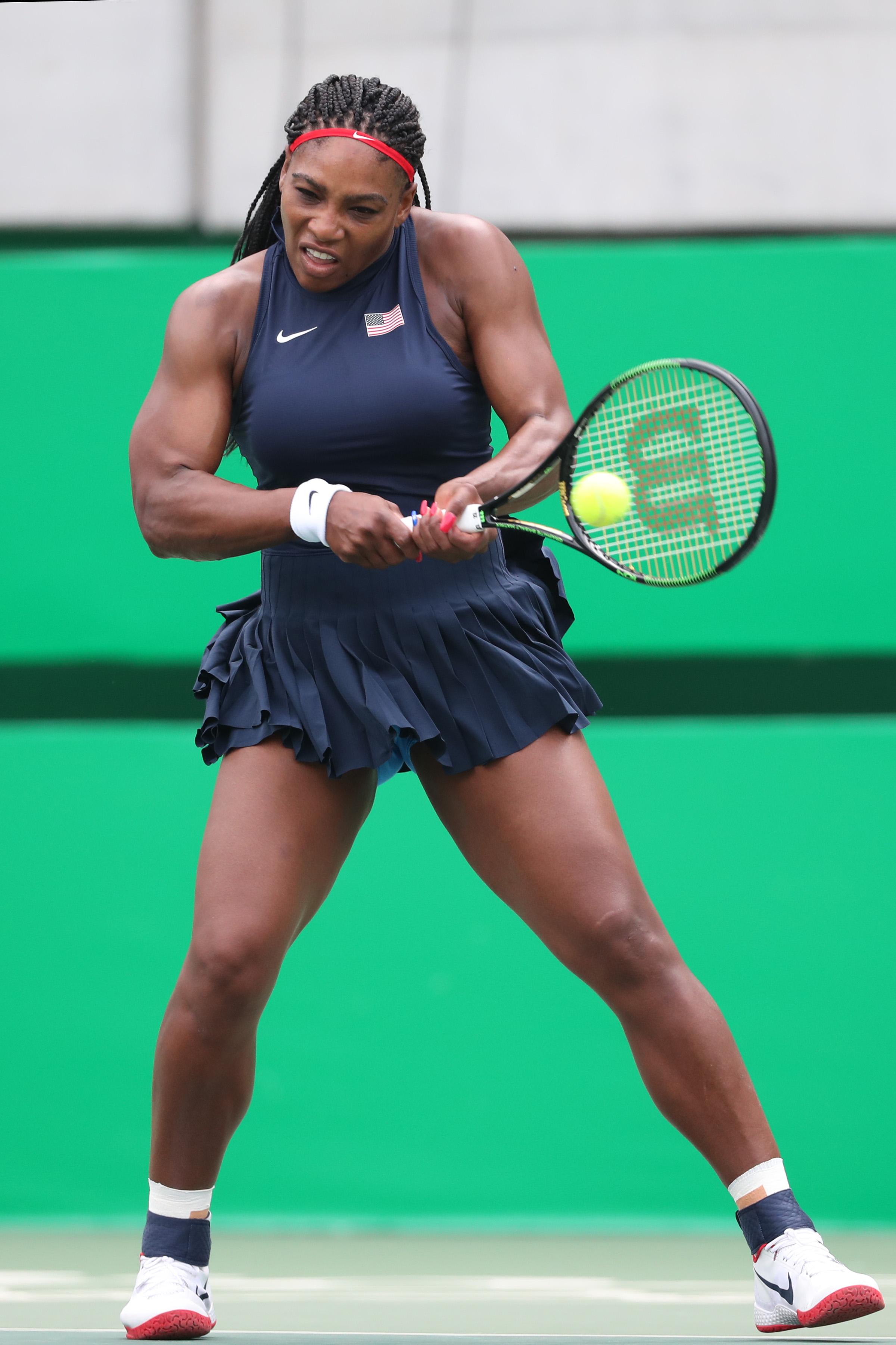 Serena Williams USA Olympics Nike Flare 2