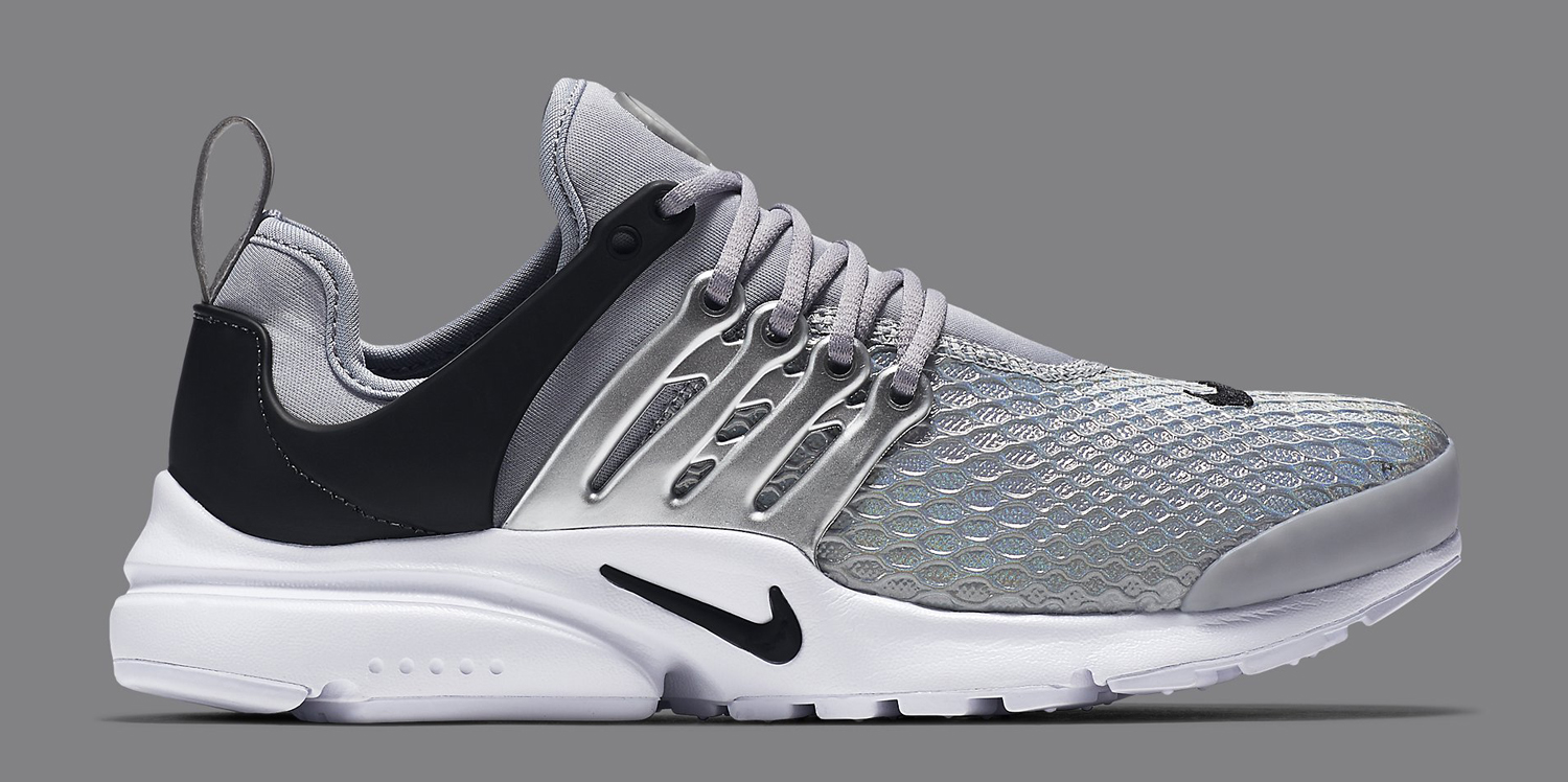 official photos 56605 c1fa0 Silver Nike Air Presto Womens | Sole Collector