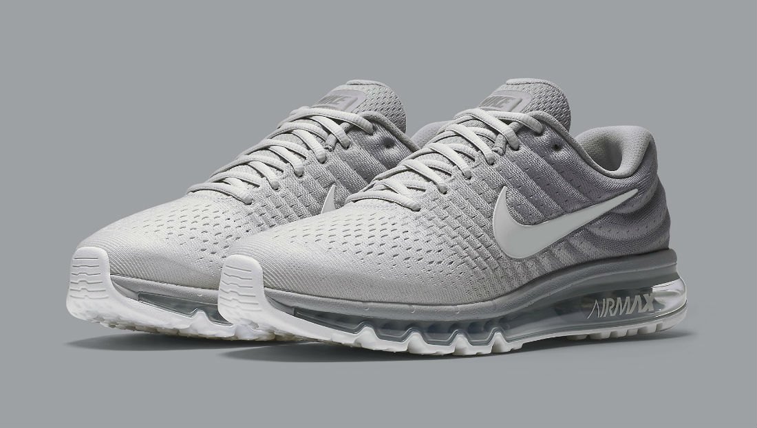 Nike Air Max 2017 White Grey