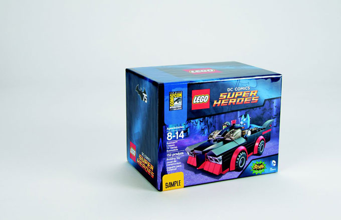LEGO Super Heroes: DC Comics San Diego Comic-Con Exclusive Batman Classic TV Series Batmobile. Sjpgqst5jjpocau6c9lx