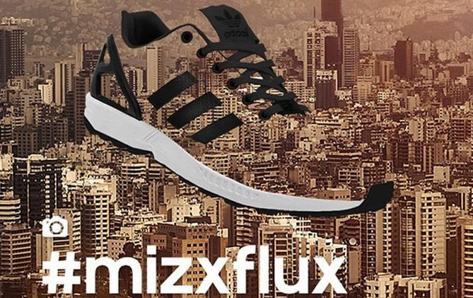 adidas ZX Flux NPS B34893 OLD SILOS Sneakers