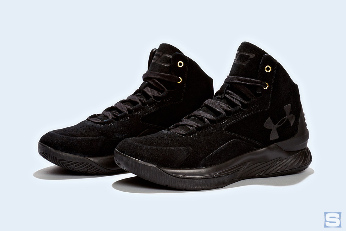 Under Armour Curry Lux Triple Black Pair
