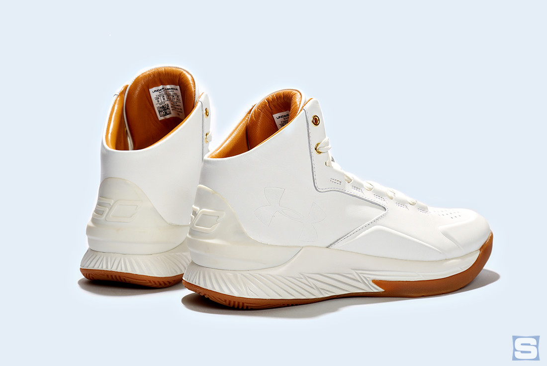 Under Armour Curry Lux White Gum Pair