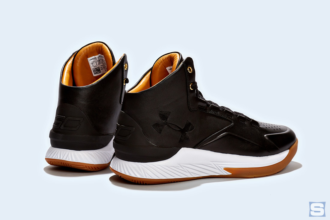 Under Armour Curry Lux Black Gum Pair