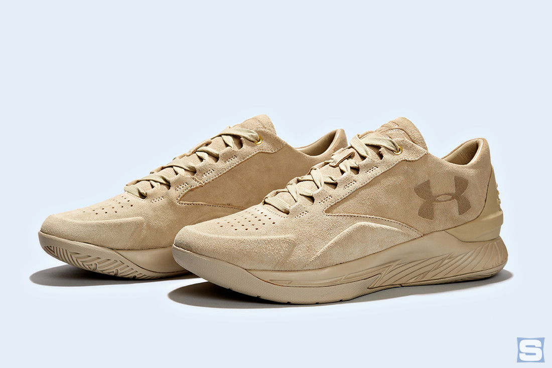 Under Armour Curry Lux Tan Pair