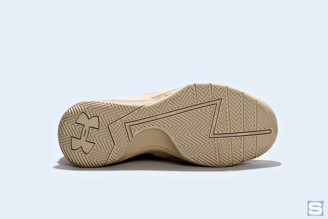 Under Armour Curry Lux Tan Sole