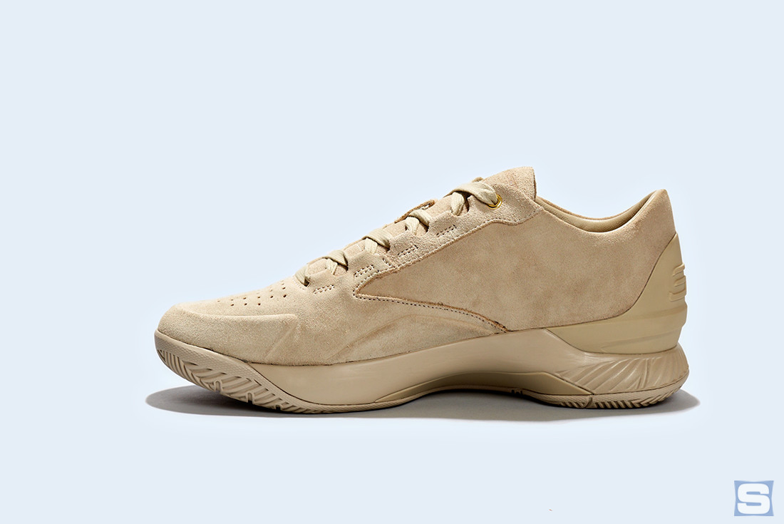 Under Armour Curry Lux Tan Low
