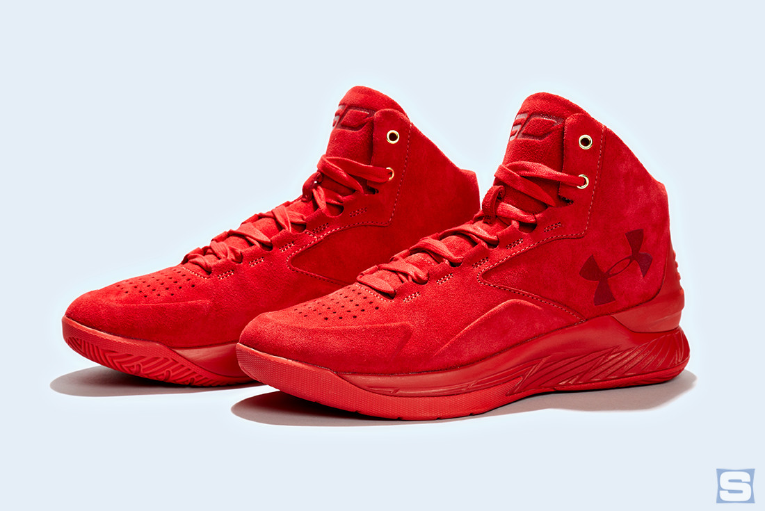 Under Armour Curry Lux Triple Red Pair