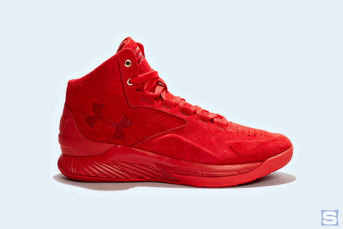 Under Armour Curry Lux Triple Red