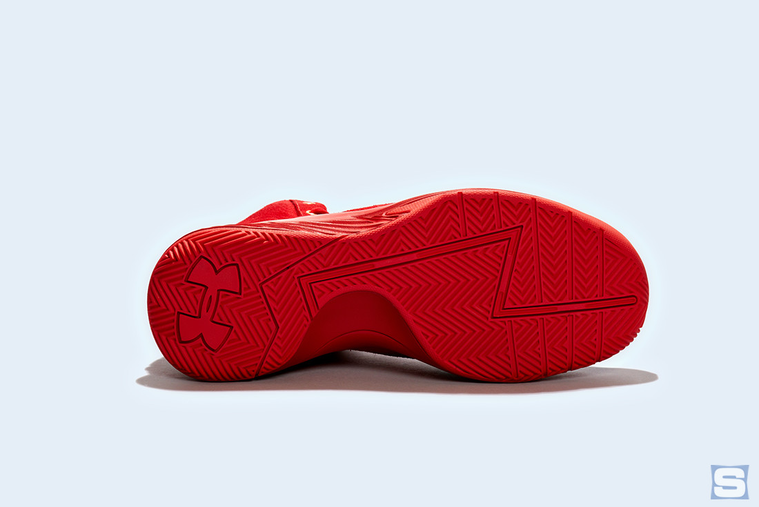 Under Armour Curry Lux Triple Red Sole