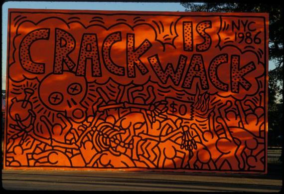 Keith haring crack is wack mural origin story complex for Crack is wack mural