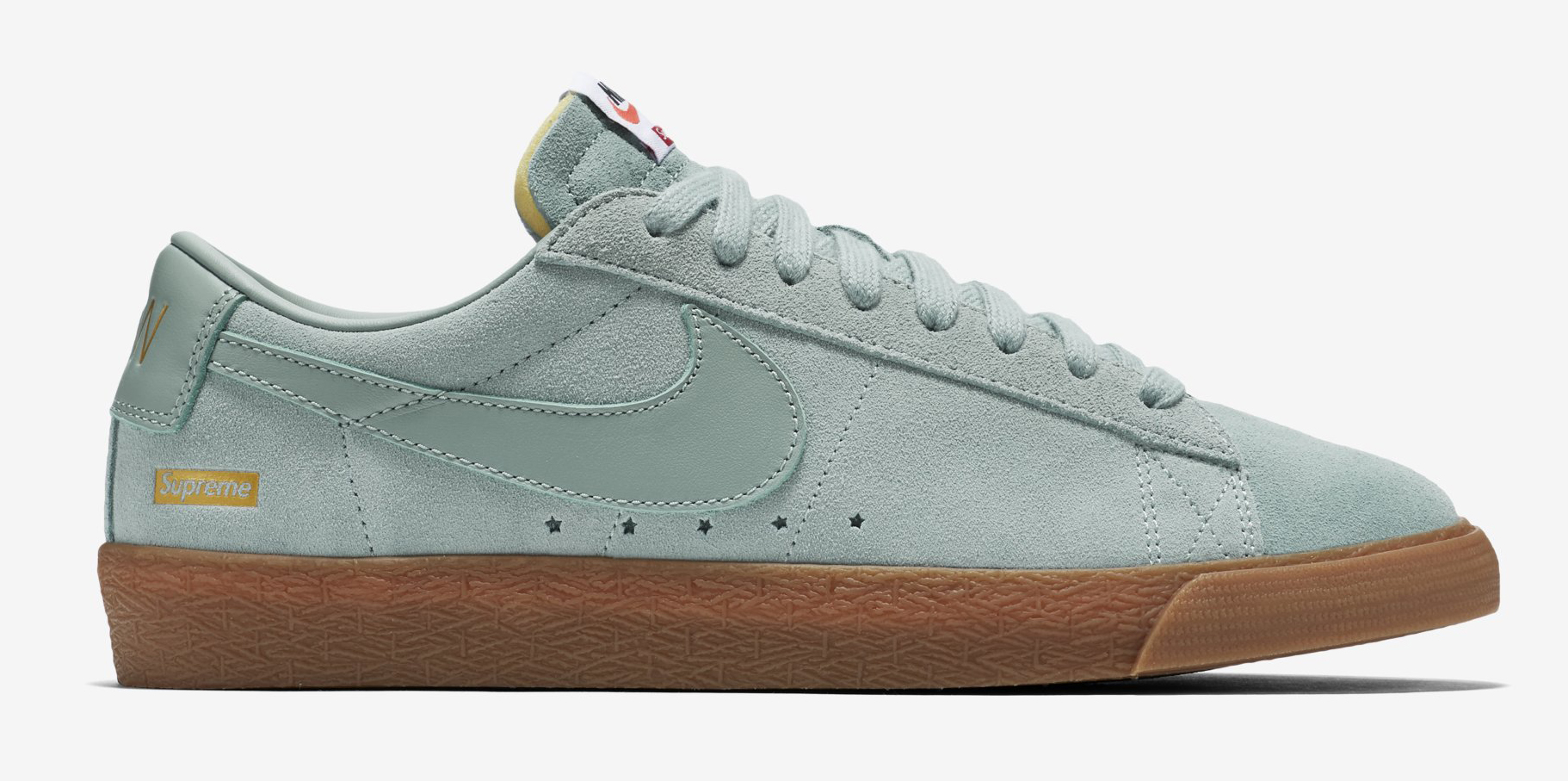 online store 0d5f2 23b2d Supreme Nike SB Blazer Low Nike Online Release | Sole Collector