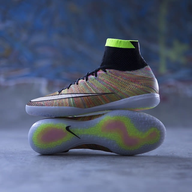 There's a Multicolor Flyknit Soccer Shoe That Can Be Worn on the Streets