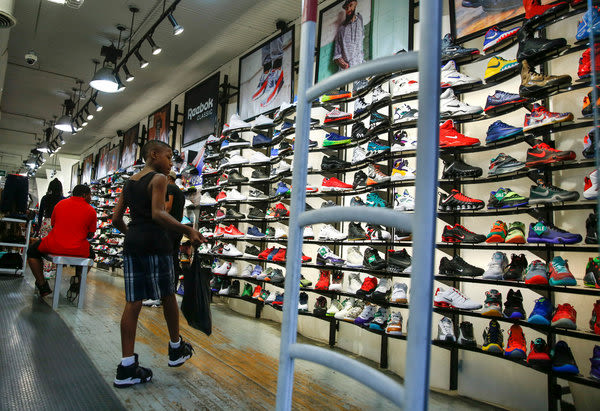 Sneaker Theft Has Gotten So Bad That Stores Aren't Letting People Try on Shoes