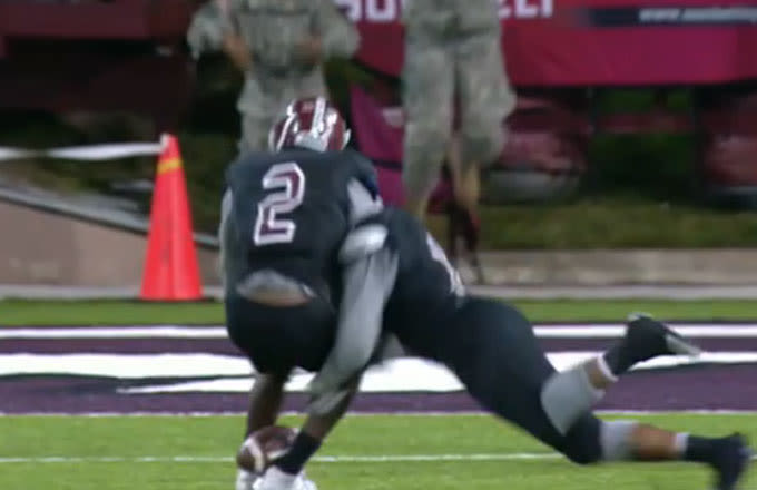 Awful College Football Team Snaps 17-Game Losing Streak When Player Intercepts Pass With Ankles
