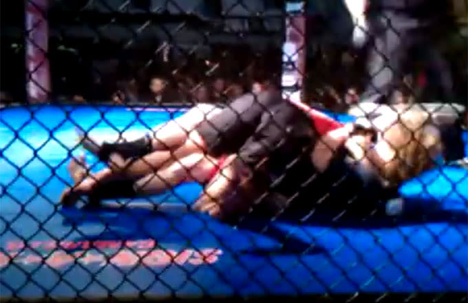 Relive Ronda Rousey's Amateur MMA Debut