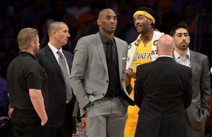 Kobe Bryant Admits He Once Made a Lakers Teammate Cry, Responds to Larry Nance Jr. Tweet