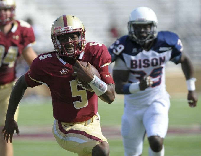 Boston College Annihilates Howard University 41-0 In First Quarter, Both Team's Coaches Agreed to Shorten The Second Half
