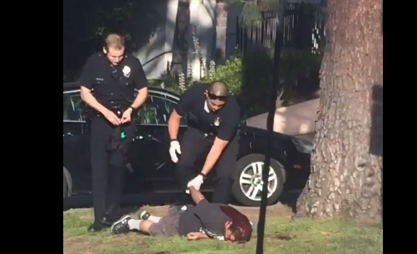 LAPD Shoot Down Unarmed Man for Allegedly Raising Arm Wrapped in a Towel