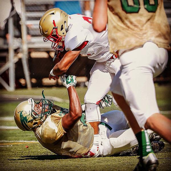 15-Year-Old High School Running Back Josh McKenzie Goes Full Beast Mode on One Unfortunate Defender